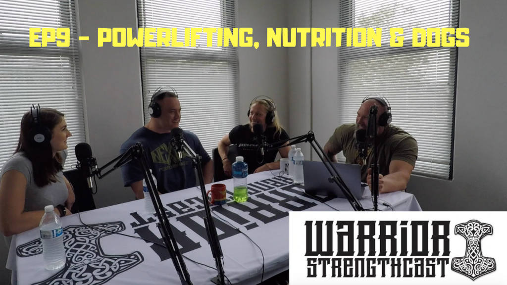Episode 9 - Will Crozier & Mikki Wescombe - Powerlifting, Nutrition & Dogs